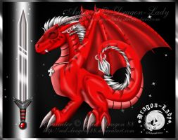 Might Sword a Dragon's Tale by CrystalJoy-Creations