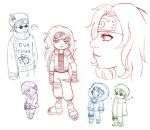 team 8 doodle fest by -babykefka-