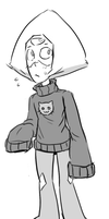 Smol Peri in Sweater by AccursedAsche