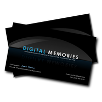 Digital Memories Business Card by accessed