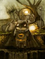 steampunk batman by berkozturk