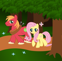 Fluttermac in the Forest by jrk08004