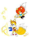 Tales and Tails Sonic Boom style by PrincessTales