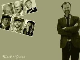 Mark Gatiss Wallpaper by pfeifhuhn