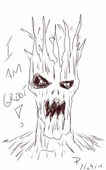 I am Groot by Derfs-Domain