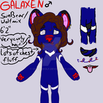 Galaxen ref by Chazz-wolf