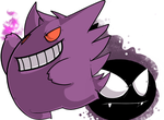 Gastly - Gengar by Z0MB13S