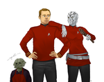 Star Trek FanArt: A New Star by NinaKask