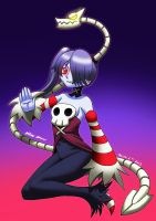 Squigly and leviathan by MR-CREEPING-DEATH
