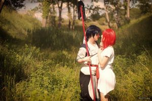 With my beloved Hakuryuu :3 by Kus-Hina
