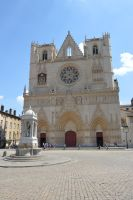 Cathedral of Saint Jean to LYON City by A1Z2E3R