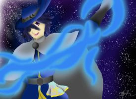 The Blue Magician by CrystalizedNight