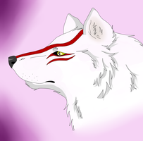 Okami Fan Art by XxAkaiAuraxX