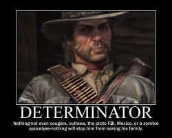 Red Dead Redemption Motivational by Iceclaw77