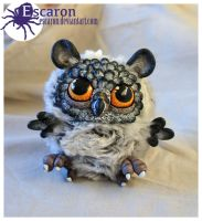 Owlet - OOAK Doll (SOLD) by Escaron