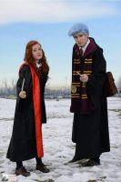 Lily Luna Potter and Teddy Lupin Cosplay by teddylup