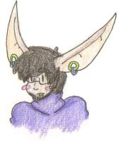 Turtle Neck Hipster Bunny by Like-A-British-Guy