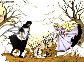 Fairy Tail Mavis and Zeref by IchigoVizard96