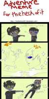 Adventure with Karkat and Sollux by Fortheheckofit1