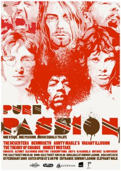 Pure Passion : Rock Poster by iarafath