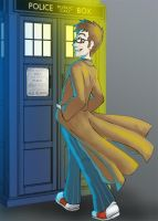 Dr.Who - 4 Things and a Lizard by Ghostey