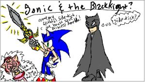 Sonic and the Black knight? 0o by KamiraCeeker