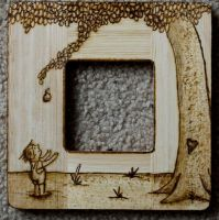 The Giving Tree wood etch by xfarfrumstr8x