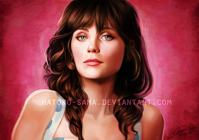 Zooey Deschanel by dianavigo