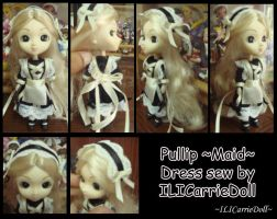 Pullip -Maid- by ILICarrieDoll