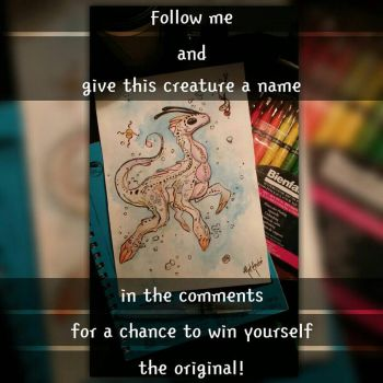 Name this creature giveaway!! - by Mat Andre by MatAndre