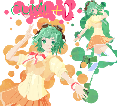 [MMD] Gumi Candy Ver. +DL by JunMaeda