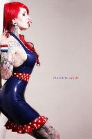 MademoiselleJess Latex-Pinup-Dress by AmatorisLatexCouture