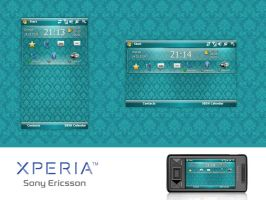 Xperia - today screen by Funialstwo