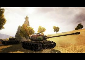 World of Tanks: Against Enemy Odds by purpledragon104