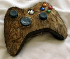 Furry xbox Controller by PrettyRedWolf