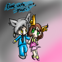 Wilfre and Mari by Kitzophrenic