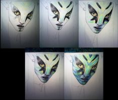 Avatar unfinished by Dewilish