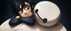 Hiro and Max by Red-Vanilla19