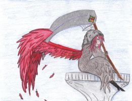 The Red Grim Reaper by AngelicReaper21