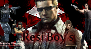 Resi Boy's wallpaper by MiAmoure
