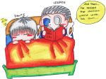 Dante and Sparda Bed Time by meandalbert