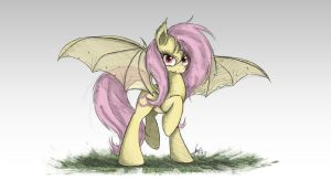 Flutterbat Sketch by NCMares