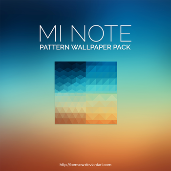 Mi Note Wallpaper Pack by BenSow