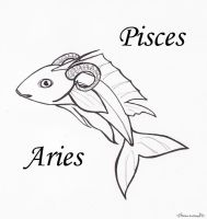 Pisces Aries by Adrastia217