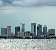 tampa skyline from ballast point no. 2 by CommonMime