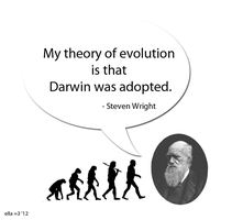 charles darwin is adopted? by ella-and-aimi