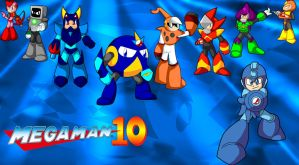 Megaman 10 Wall Paper by spdy4