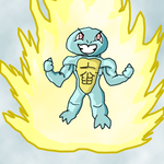 Contest Entry Powered Squirtle by kaintd