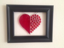 Framed Heart 2 - for my mother by PandoraX