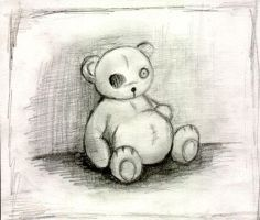 sad bear by BlowersDaughter91